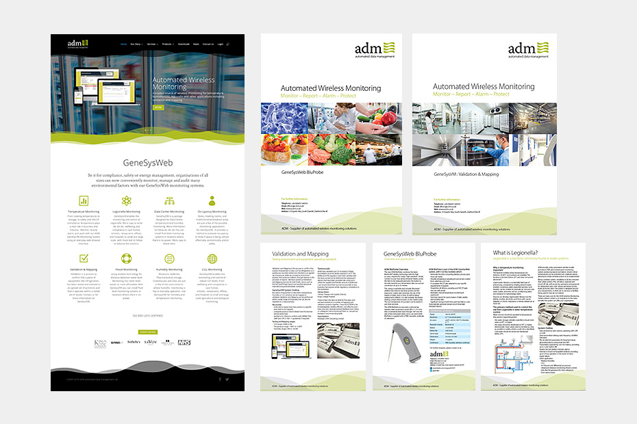 DM Monitoring Corporate Identity Design