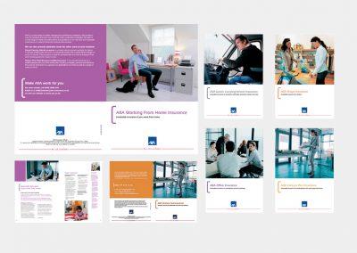 AXA Insurance Brochures