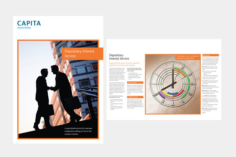CAPITA Brochure Design