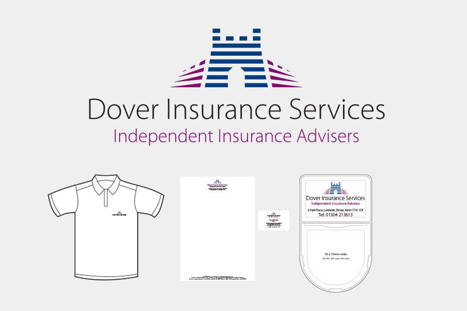 Dover Insurance Services Logo Design