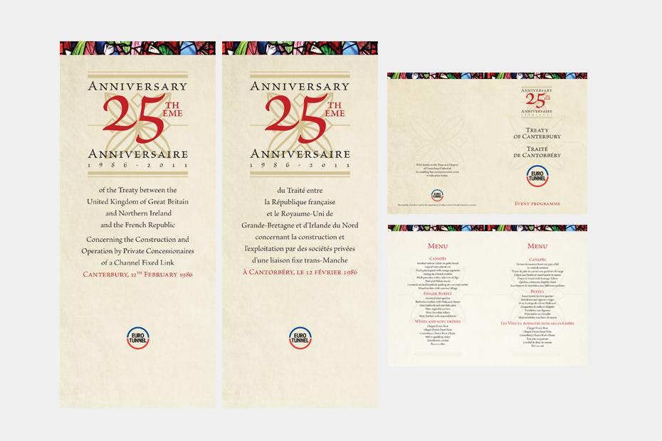 Eurotunnel canterbury Treaty Event Designs