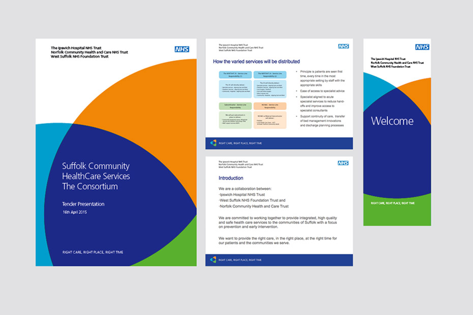 NHS Project Tender report design