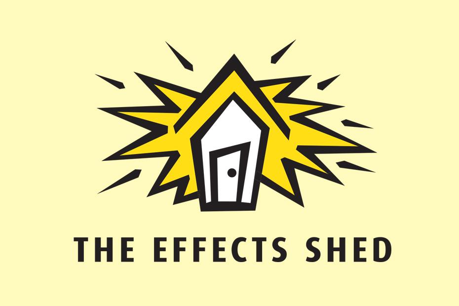 Exploding Shed Logo Design