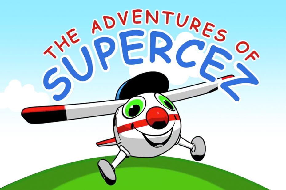 Supercez Cartoon Aircraft