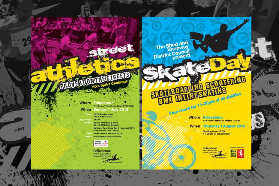 Street Skate Day Graphics